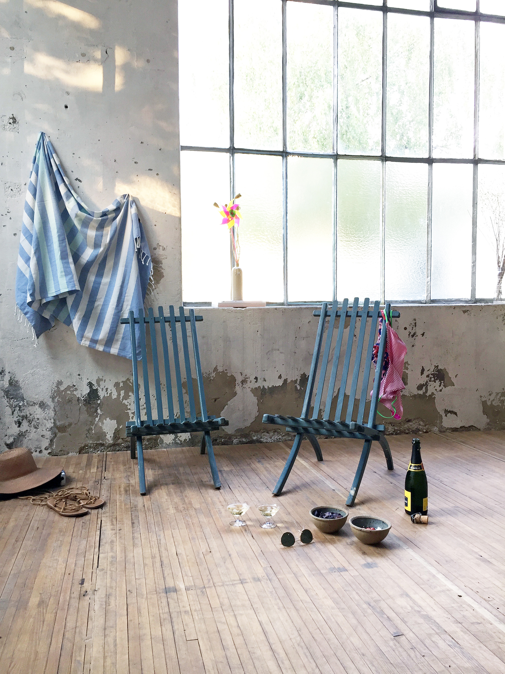 Chaises de jardin pliantes – Mein Lieber