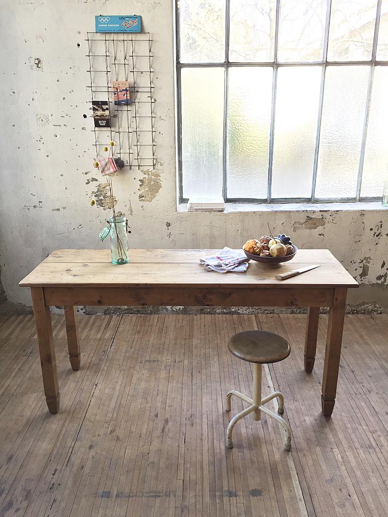 Table de ferme en pin – Mein Lieber